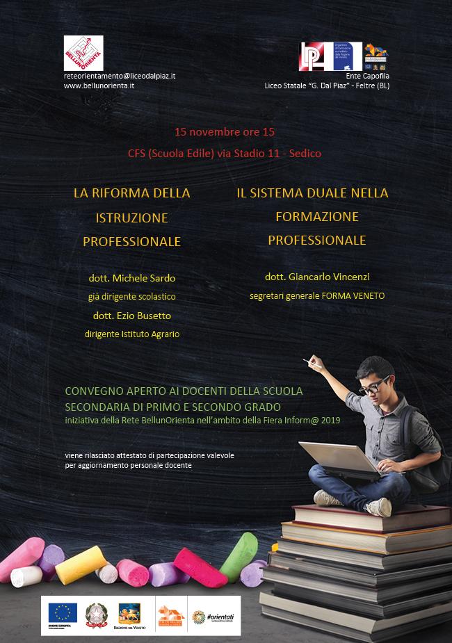 Convegno riforma istruzione professionale